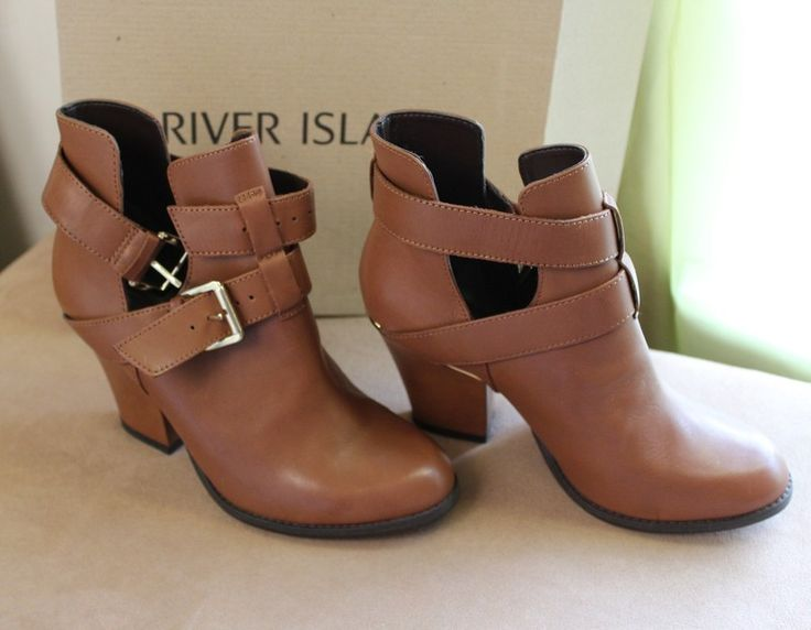 New. Never worn Light brown colour River Island short boots. Hit, miss or maybe? You decide. Circular and second hand fashion. Click to get the look or download the Vinted app!