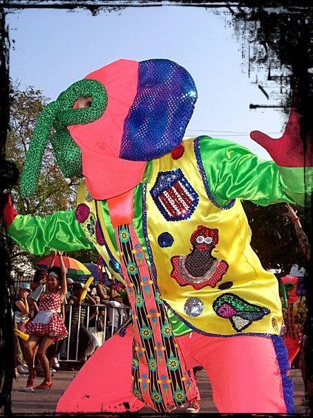 Barranquilla, Colombia. #Carnaval #Marimonda.