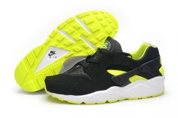 pretty nice 26a35 599b5 Discount Nike Air Huarache Venom Green Black White Volt
