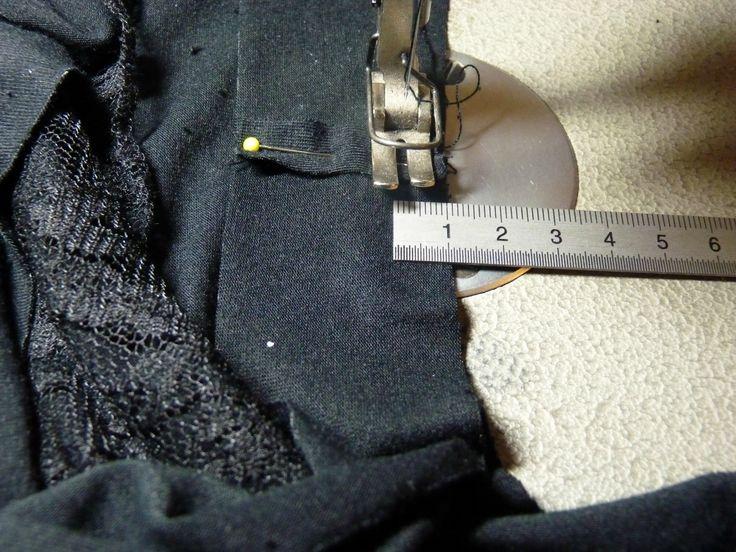 Tuto : finitions du bord en jersey - A pois c'est tout !
