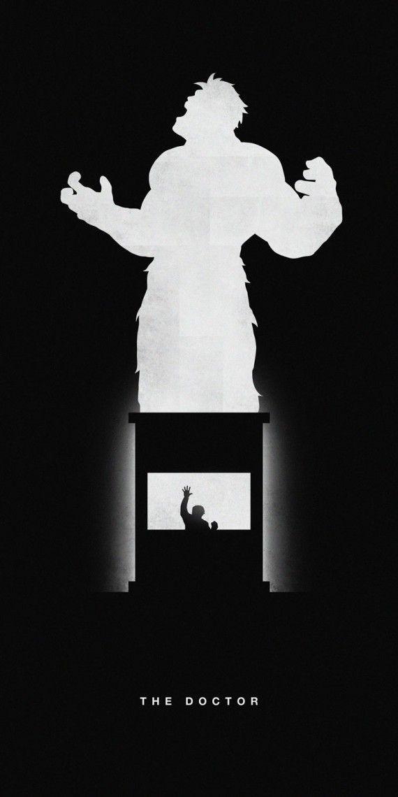 Affiches silhouettes de Khoa Ho - Hulk