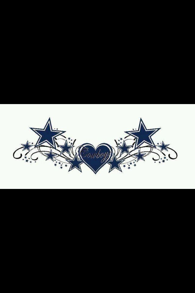 Dallas Cowboys! Thinking about getting this in a tattoo!