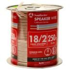 250 ft. 18-2 Clear solid CU Speaker Wire