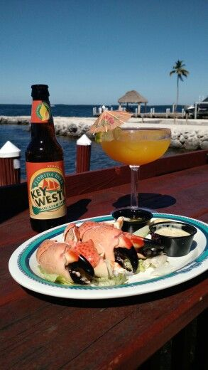 Snook's Bayside Restaurant in Key Largo, FL - Stone Crab Claws, suds and sunshine!
