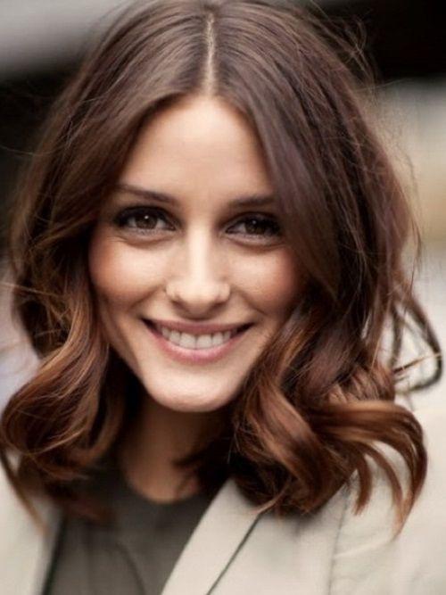 Easy Medium Length Wavy Hairstyles For Simple Women 2013