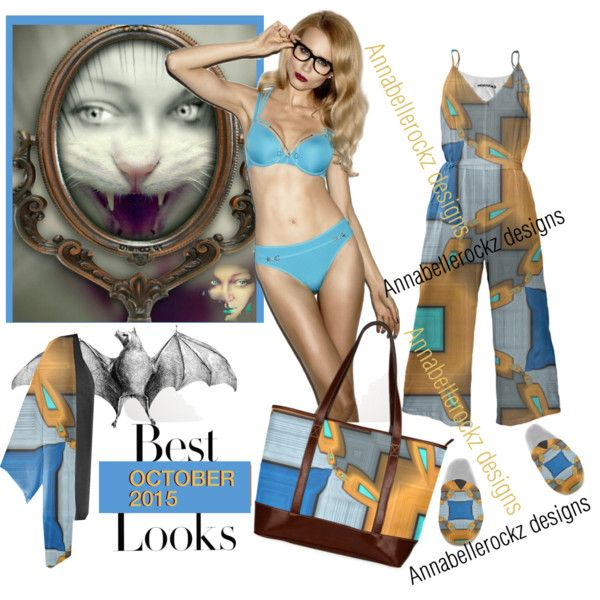 New Outfit designed for fall 2015 inspired by October, Enjoy !  Love #Anabellerockz