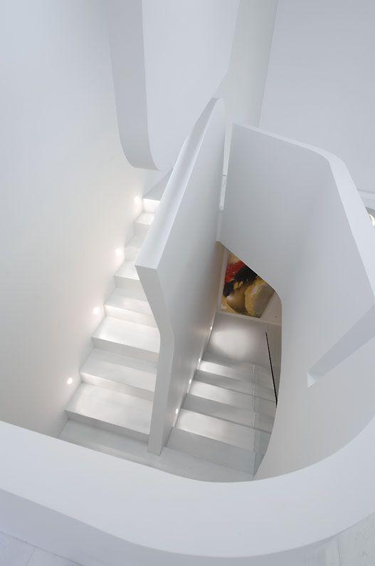 die 31 besten bilder zu zaragoza house / vivienda en zaragoza auf ... - Weisse Wohnung Futuristisch Innendesign