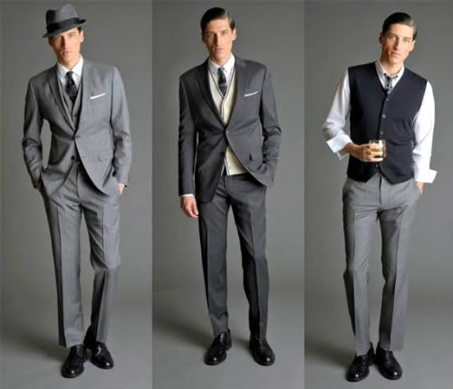 50S Suits For Men   Amy Bird Tweets: Fashion For Men: Suits to Suspenders