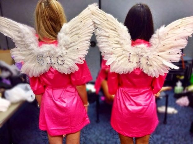 26 Halloween Costumes for Every Sorority | http://www.hercampus.com/life/greek-life/26-halloween-costumes-every-sorority | Angel Costume