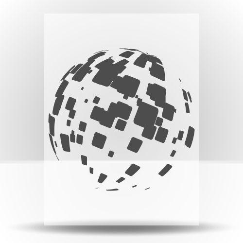 1364 Зеркальный шар