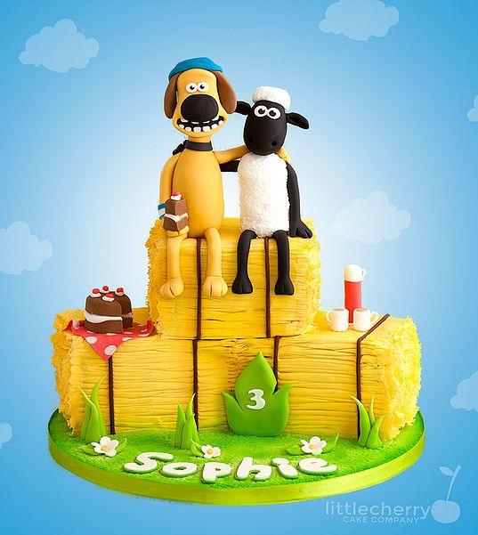 Shaun the Sheep Cake                                                                                                                                                     More