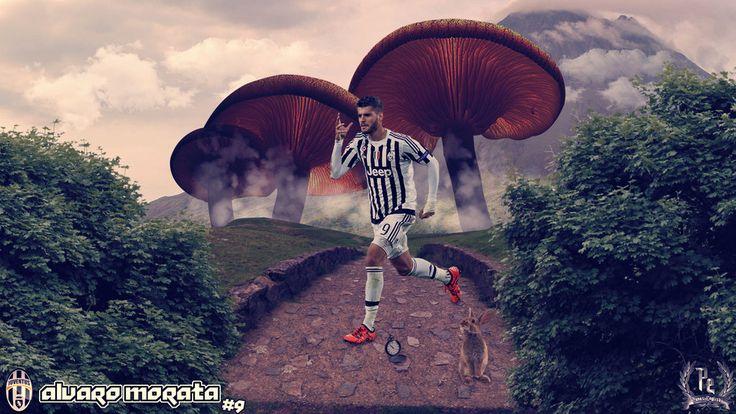 Alvaro Morata by PanosEnglish.deviantart.com on @DeviantArt
