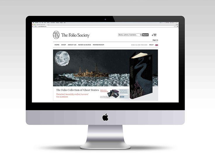 Folio Project Web Mockup