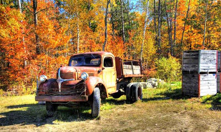 The Old Cranberry Truck in Bala, Ontario