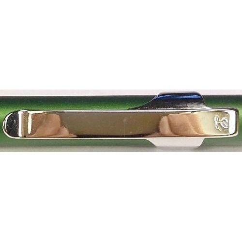 Fém golyóstoll - Clipper - Metál zöld - Legend - Elegáns gravírozható fém toll ajándékba - 299