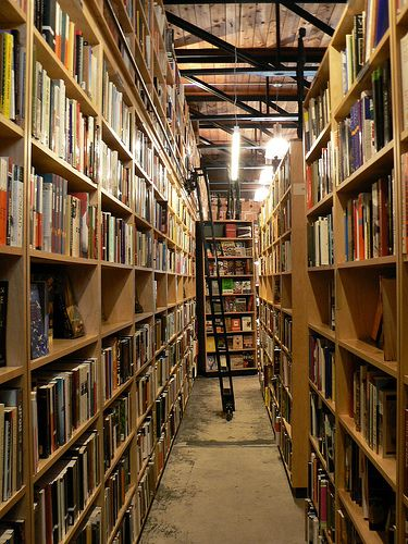 Old book stores make me happy :D