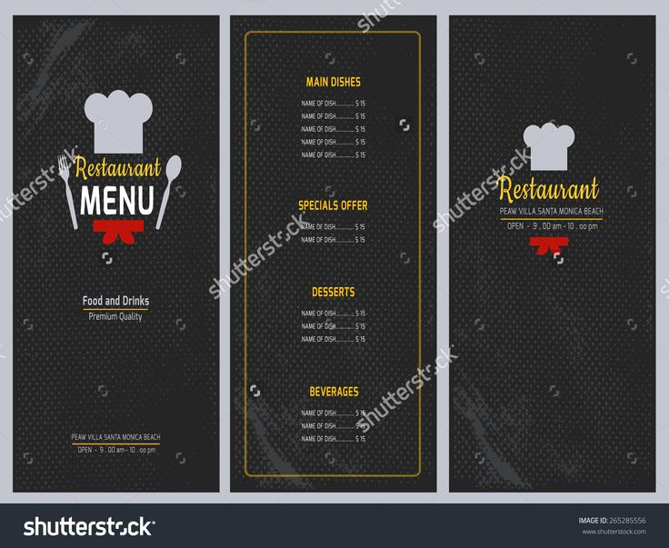 92 best Feature box images on Pinterest Social media, Business - drinks menu template