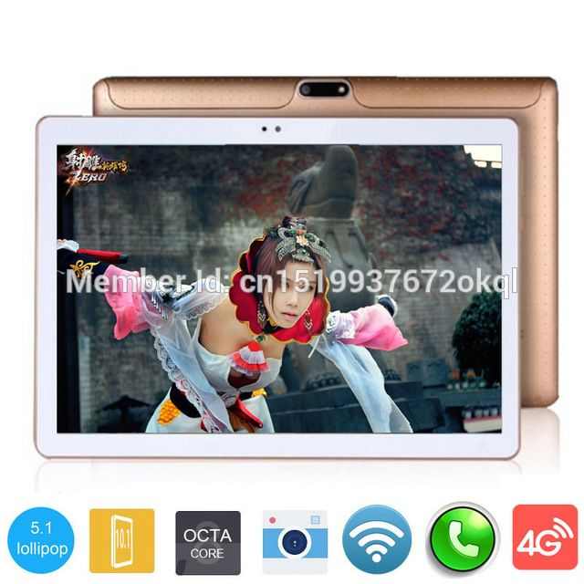 Promotion price 2017 New DHL Free 3G 4G Lte 10 inch Tablet PC Octa Core 4GB RAM 32GB ROM Dual SIM Cards Android 5.1 GPS Tablet PC 10 10.1 +Gifts just only $83.51 - 111.35 with free shipping worldwide  #tablet Plese click on picture to see our special price for you
