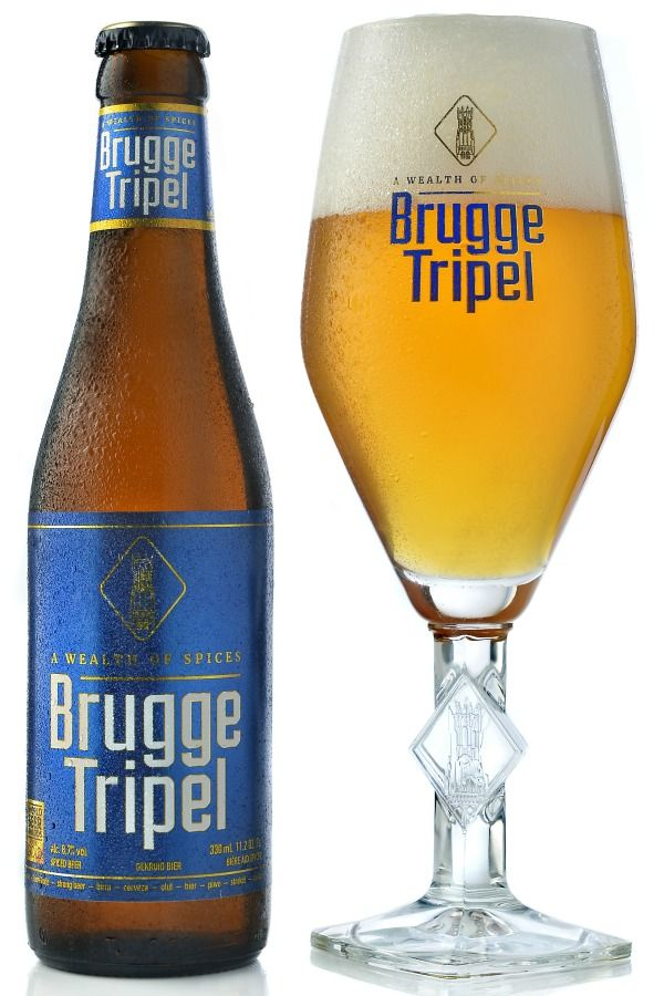 Brugge Tripel is a unique Belgian triple style beer brewed by Palm Belgian Craft Brewers with a mixture of herbs, a tradition dating back to the Middle Ages before hops arrived in Belgium. - BeerTourism.com