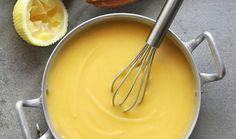 Απλή συνταγή για μυρωδάτη και βελούδινη κρέμα λεμονιού χωρίς αυγά.
