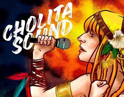 """Check out new work on my @Behance portfolio: """"Cholita Sound a pulso"""" http://be.net/gallery/38732527/Cholita-Sound-a-pulso"""