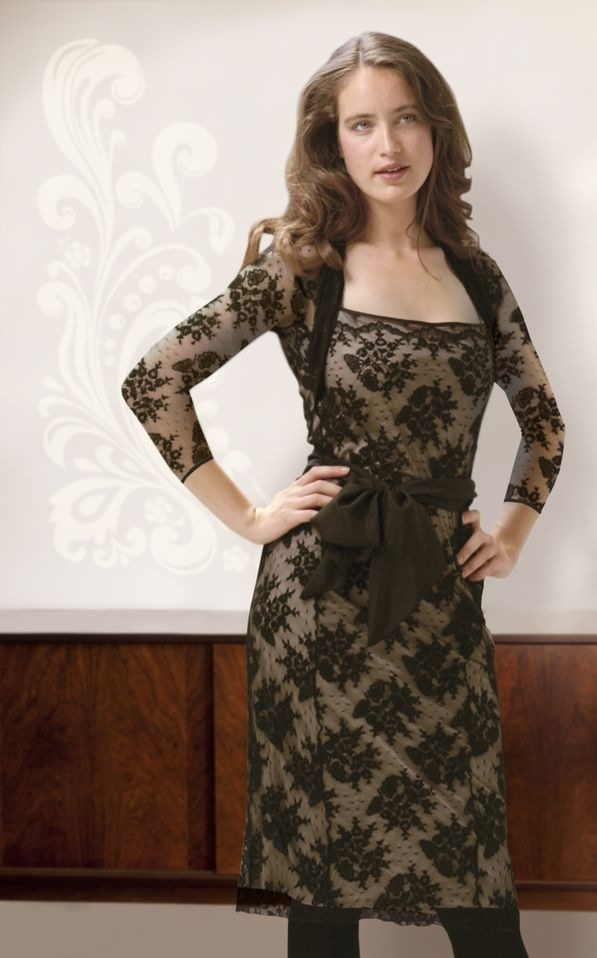 Grown up black lace just gets better...