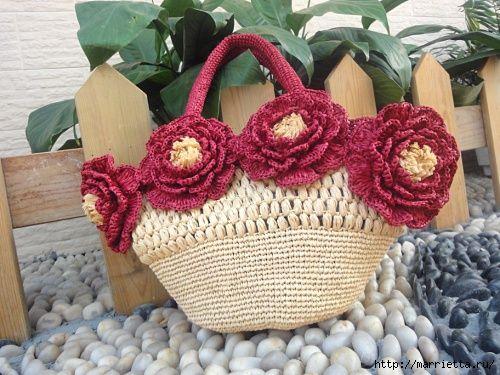 ..bOLsA dE raFiA..: Crochet Bags Purses Handbags, Handbags Purses, How To Crochet, Crochet Bolsos, Tissue, Bolsos Crochet, Crochet Handbags, Crochet Knitting Bag