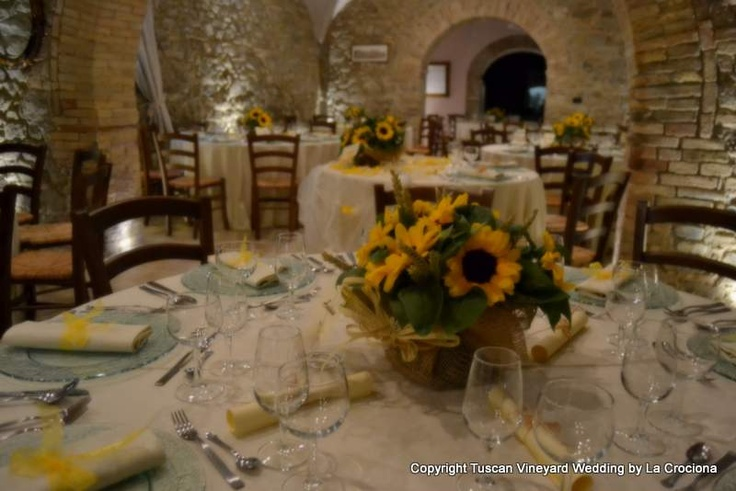 The Medieval Wine Cellar!For more pictures, please visit www.tuscanvineyardwedding.com