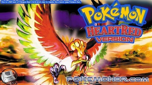 http://www.pokemoner.com/2014/07/pokemon-heart-red.html Pokémon Heart Red  Name: Pokémon Heart Red Remake From: Pokemon Heart Gold Remake by: TriggerHappy187 Description: This is a ROM hack of Pokemon Heart Gold which aims to remake the classic game Pokémon Red. Dialogue is taken from the Gameboy Advance versions (Fire Red & Leaf Green) however there are no plans to include the Sevii Islands like there are in those games. I will be trying to make this similar to the original but with the…