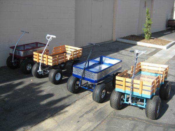 custom kids wagon | Custom kids wagons by: H6wagons.com