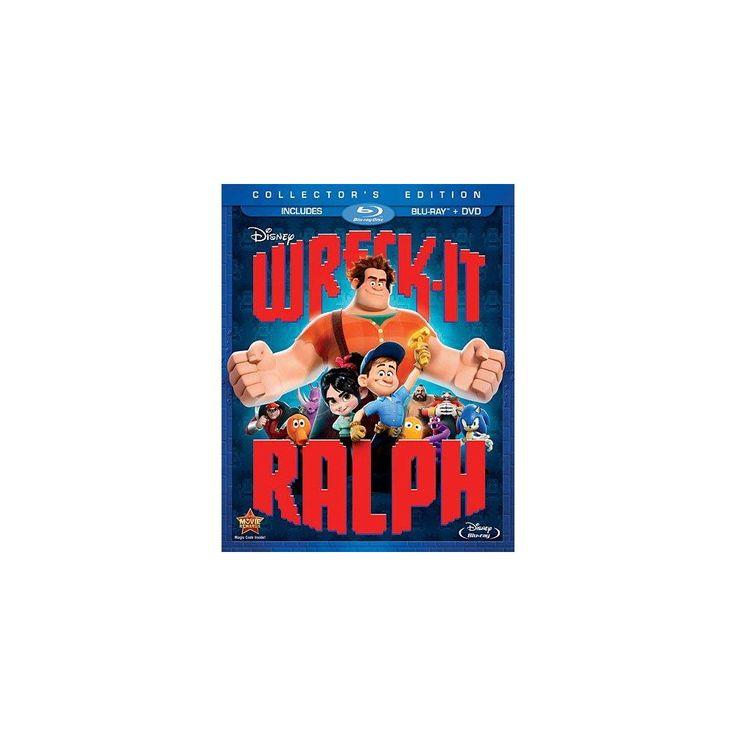 Wreck-It Ralph (2 Discs) (Blu-ray/Dvd),
