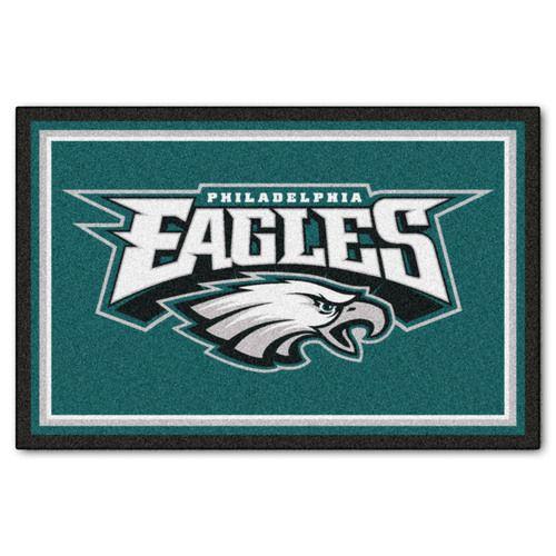 Philadelphia Eagles 5' X 8' Decorative Ultra Plush Area Rug