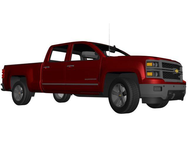 3D Model Of 2015 Chevy 1500 Ltz - 3D Model