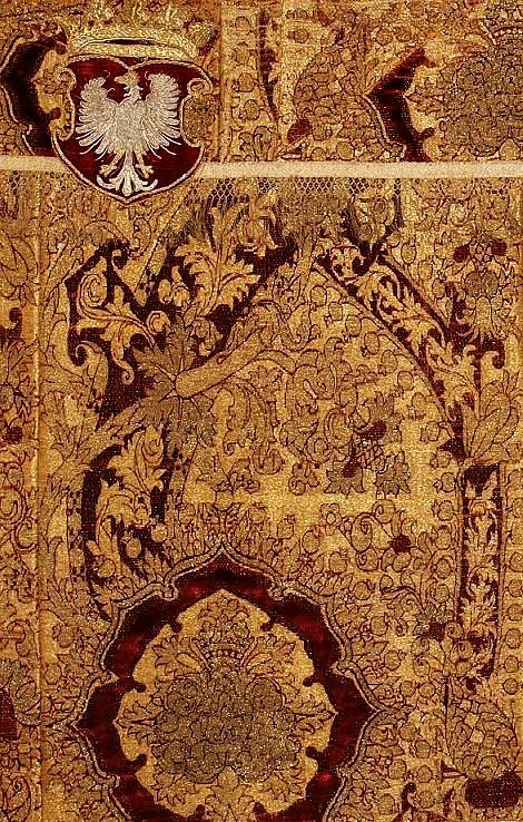 Detail of an altar frontal established by Sigismund I the Old for Sigismund Chapel at the Wawel Cathedral by Anonymous, first quarter of the 16th century (PD-art/old), Katedra na Wawelu