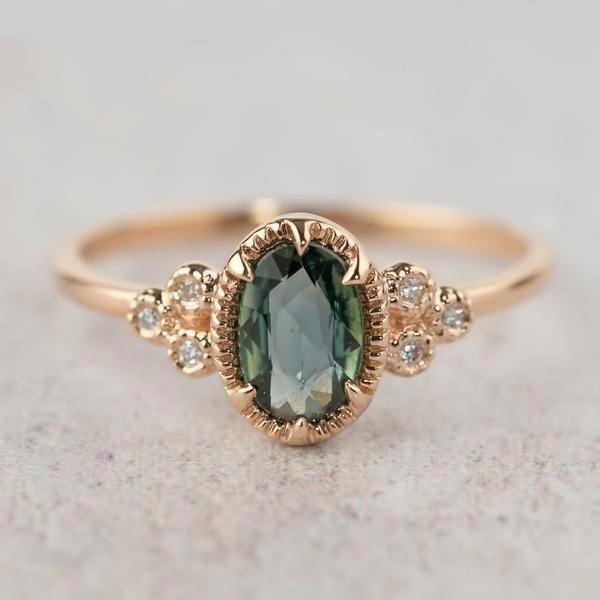 Unheated Sapphire Engagement Ring – Envero Jewel…
