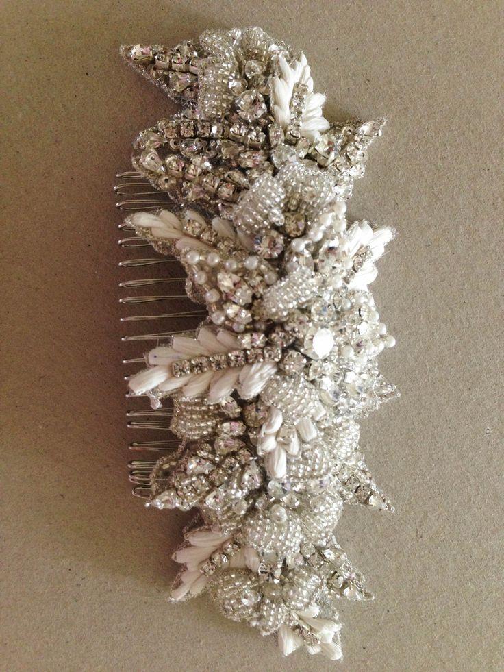 Bridal hair comb - Zulu