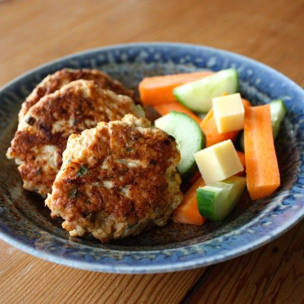 Chicken, Carrot and Feta Patties (with GF and DF options) - Powered by @ultimaterecipe
