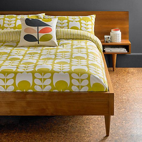Buy Orla Kiely Tulip Flannelette Bedding Online at johnlewis.com