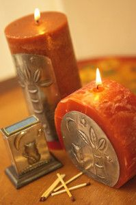 Creative Company | Easy Pewter Projects: Candles
