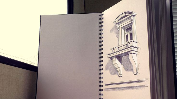 3D Sketch of a balcony/ it is possible? amazing drawing of 3D balcony with pencil. How to draw a Trick Art anamorphic optical illusion sketch