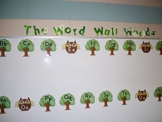 Clutter-Free Classroom: Word Walls - Setting Up the Classroom Series