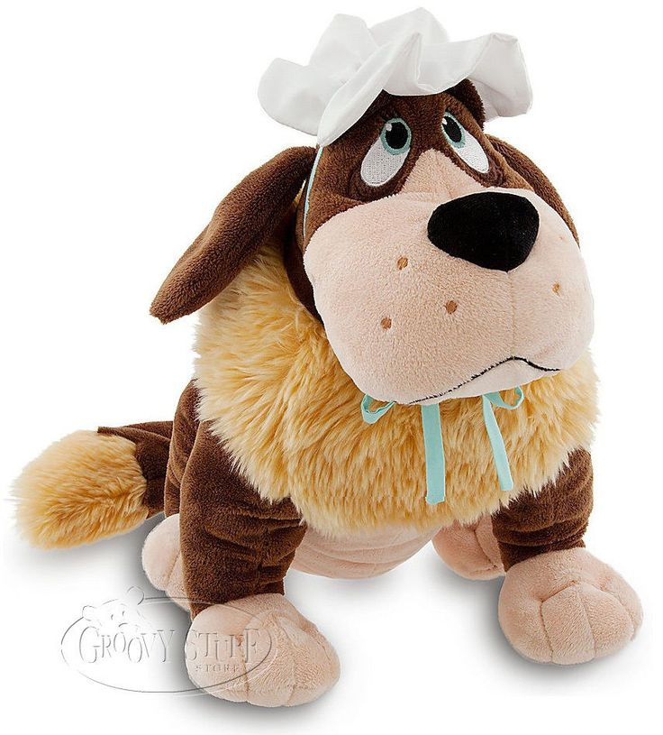 Disney Peter Pan NANA Large Premium Stuffed Soft Plush Doll St. Bernard Dog NEW #Disney