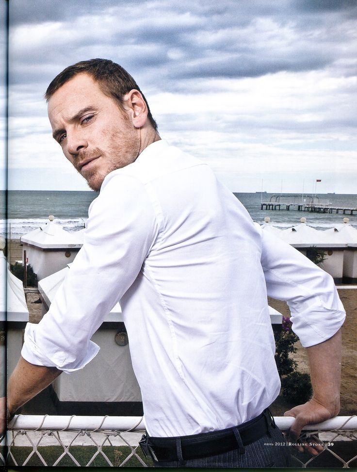 Rolling Stone (Russia) magazine, june 2012 - michael-fassbender Photo
