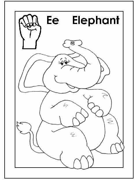 29 best ASL/American sign language alphabet coloring