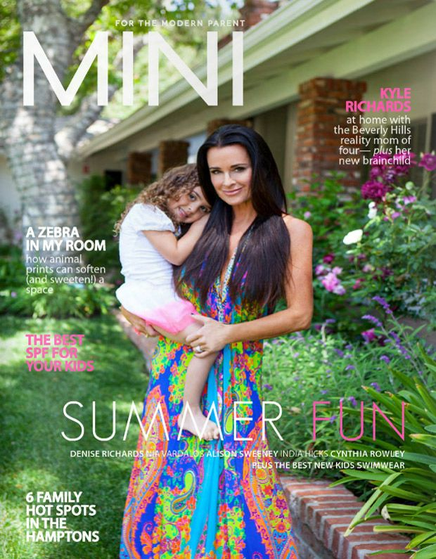 Kyle Richards and Daughter Portia Play Dress-Up in Mini Magazine: RHoBH Cute Pics!