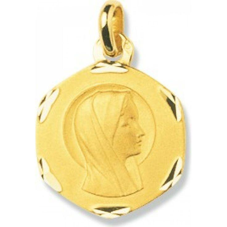 Ladies gold Vierge Marie pendants - Bijoux Paris