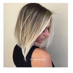 #newhair #bestblondes #loira #lob #Chanel #corte #haircut #highlights ✨✨✨❤️