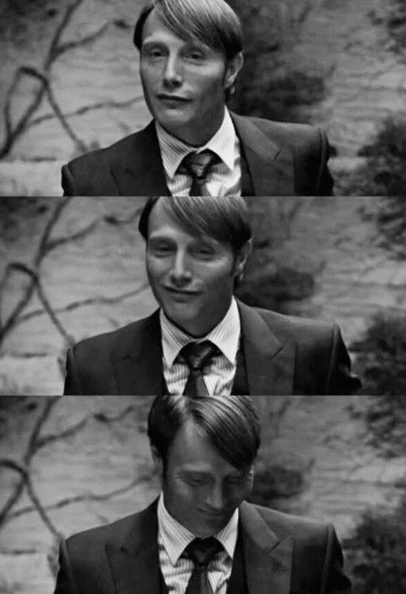 Mads Mikkelsen Hannibal. #weirdcrush