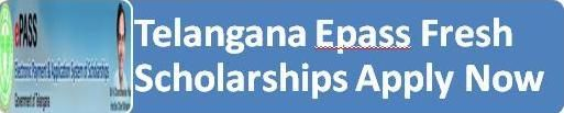 Telangana Postmatric Scholarships Fresh Registrations 2015-16 online applications at telanganaepass.cgg.gov.in | ResultExpress