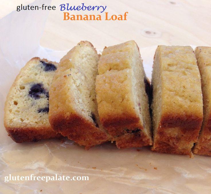 Gluten Free Lemon Blueberry Bread by Gluten-Free Palate